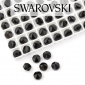 5062 Swarovski Jet Round Spike Bead 5,5mm - 1 hole [2szt]