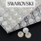 1122 Swarovski Rivoli 12mm Light Grey DeLite [2szt]