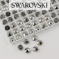 5062 Swarovski Light Chrome Round Spike Bead 5,5mm - 1 hole [2szt]