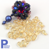 ZoliDuo (Right) 5x8mm Crystal Champagne Luster [10szt]