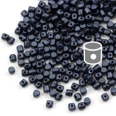 Minos par Puca 2,5x3mm Metallic Dark Blue [40szt]