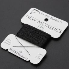Nici metalizowane BLACK DIAMOND 0,35mm/23m [blister]