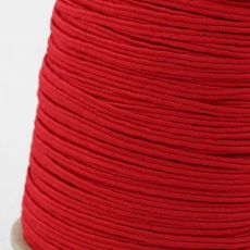 Sznurek sutasz USA rayon 2,5mm red [1metr]