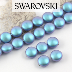 5860 Crystal Iridescent Light Blue Coin Pearl 10mm [2szt]