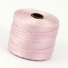 Nici nylonowe S-Lon heavy twist bead/mac cord BLUSH 0,62mm/70m [szpula]