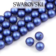 5810 Swarovski Crystal Pearl Iridescent Dark Blue 6mm [6szt]