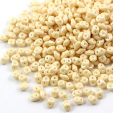SuperDuo 2.5x5mm Luster Metallic Champagne [10g]