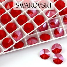 1122 Swarovski Rivoli 12mm Royal Red