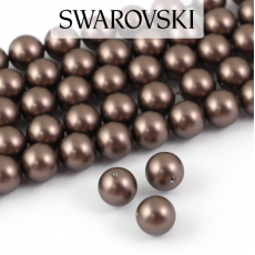 5810 Swarovski Crystal Pearl Crystal Velvet Brown 6mm [6szt]