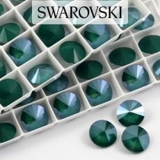 1122 Swarovski Rivoli 12mm Royal Green [2szt]