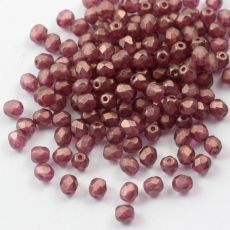 Fire Polish 4mm Crystal GT Persian Pink [20szt]