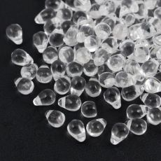 Teardrops Beads Crystal 6x4mm [20szt]