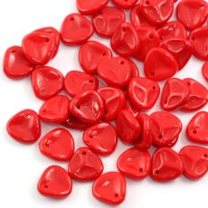 Rose Petals 8x7mm Opaque Red [10szt]