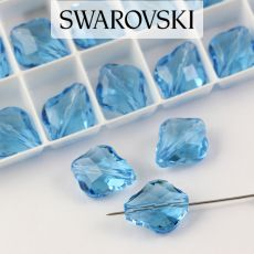 5058 Swarovski Baroque Bead 14mm Aquamarine