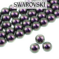 5810 Swarovski Crystal Pearl Iridescent Purple 4mm [10szt]