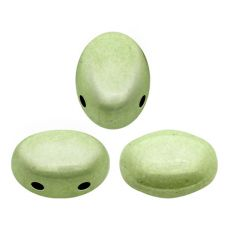 Samos® par Puca Opaque Light Green Ceramic Look [10szt]