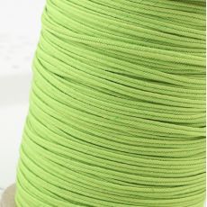 Sznurek sutasz USA 2,5mm lime POLY [1metr]
