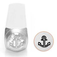 Stempel do metalu Impress Art Anchor 6mm