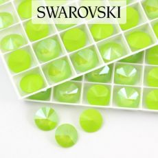 1122 Swarovski Rivoli 14mm Lime