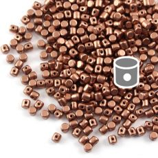 Minos par Puca 2,5x3mm Copper Gold Matte [40szt]