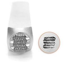 Stempel do metalu Impress Art ZIG ZAG 6mm
