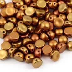 CzechMates Cabochon 6mm Metallic Mix [10szt]