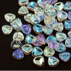 Rose Petals 8x7mm Crystal AB [10szt]