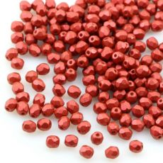 Fire Polish 3mm Lava Red [40szt]