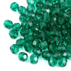 Fire Polish 6mm Emerald [20szt]