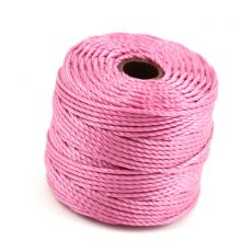 Nici nylonowe S-Lon heavy twist macrame cord LIGHT ORCHID 0,9mm/32m [szpula]