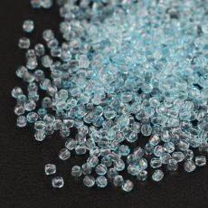 Fire Polish 2mm Crystal Light Aqua [80szt]
