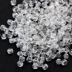 Fire Polish 3mm Crystal [40szt]