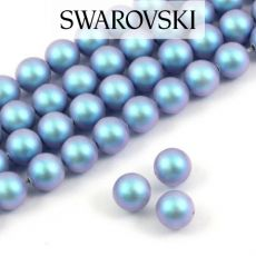 5810 Swarovski Crystal Pearl Iridescent Light Blue 8mm [4szt]
