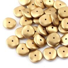 Ripple Beads 12mm Aztec Gold [10szt]