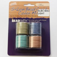 Nici nylonowe S-Lon bead cord LIGHT 0,62mm/70m [4szt]