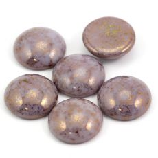 Kaboszon Les Perles par Puca® Opaque Light Amethyst 18mm