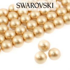 5810 Crystal Vintage Gold Pearl 8mm [4szt]