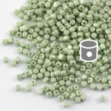 Minos par Puca 2,5x3mm Opaque Light Green Luster [40szt]]