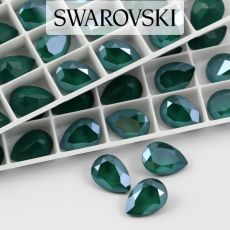 4320 Swarovski Pear Fancy Stone 14X10mm Royal Green