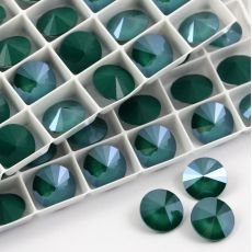 1122 Swarovski Rivoli 12mm Royal Green