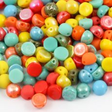 CzechMates Cabochon 6mm Mix [10szt]