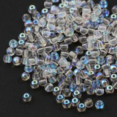 Round Beads Crystal AB 3mm [50szt]