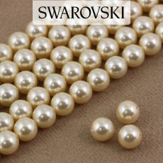 5810 Swarovski Crystal Pearl Light Gold 6mm [6szt]
