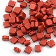 Square 6x6mm Lava Red [10szt]
