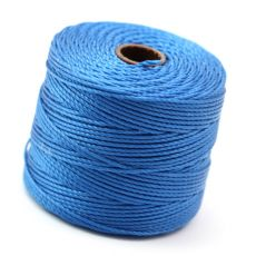 Nici nylonowe S-Lon heavy twist bead/mac cord BLUE 0,62mm/70m [szpula]