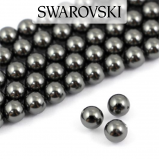 5810 Swarovski Crystal Pearl Black 3mm [10szt]