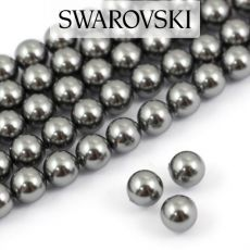 5810 Swarovski Crystal Pearl Dark Grey 6mm [6szt]