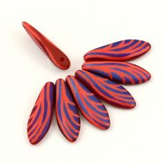 Dagger Red Coral Matt Wing 5x16mm [6szt]