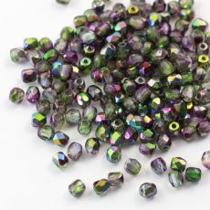 Fire Polish 3mm Crystal Magic Orchid [40szt]