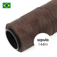 Sznurek do makramy woskowany Cedar Brown 1mm [szpula 144m]